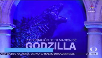 Godzilla, llegará, CDMX, película