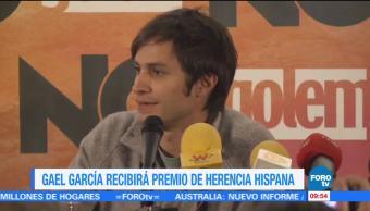 Gael García Recibirá Premio Hispana