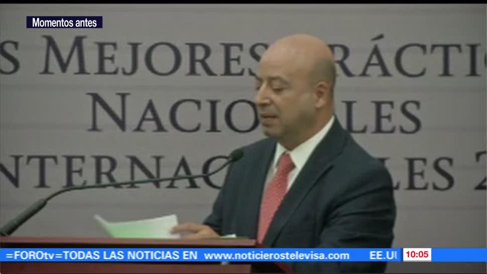 Renato Sales, inaugura, Foro, Seguridad