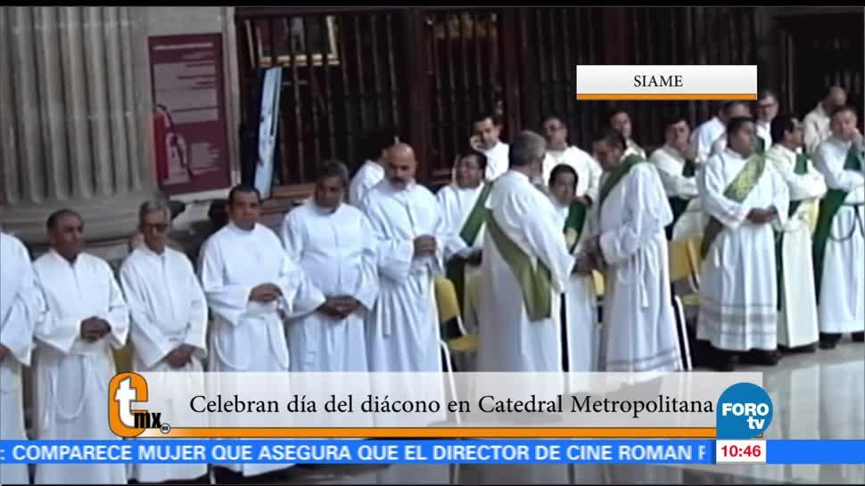 CATHOLICMX, Celebran, Día, Diácono