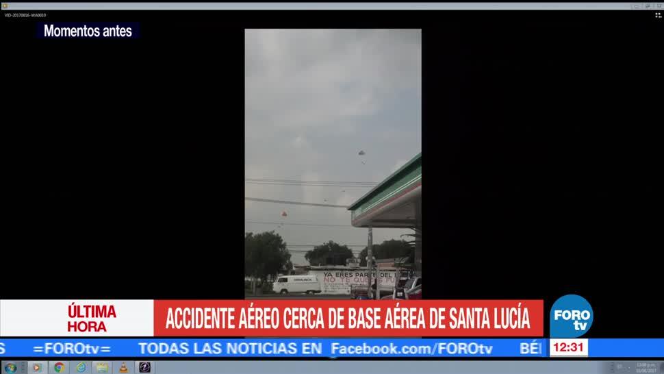Accidente Aéreo Zumpango Base aérea
