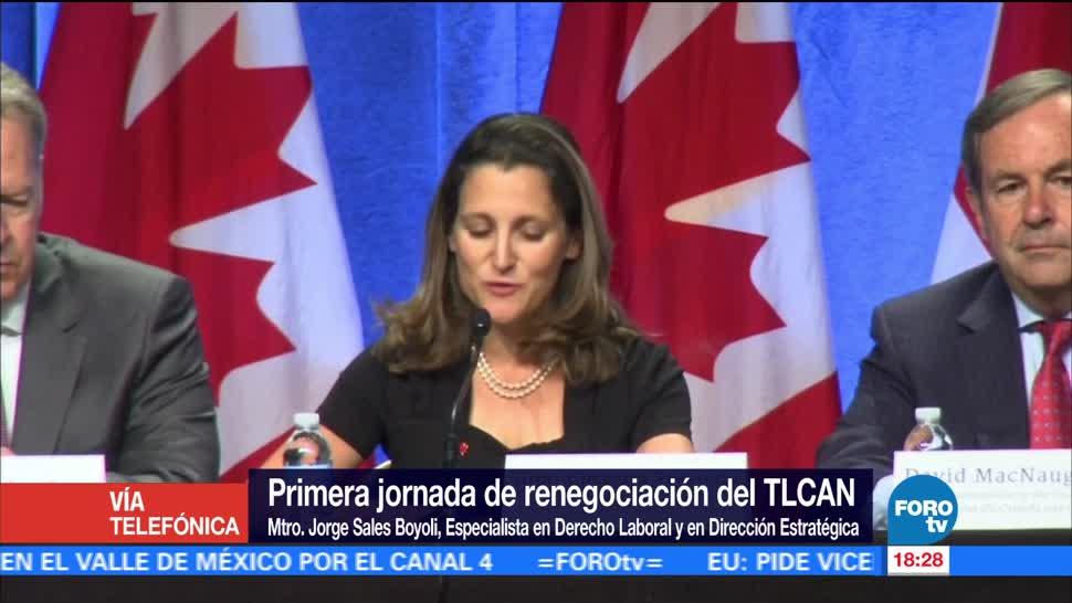 Ante renegociación TLCAN México debe cambiar nivel gobierno empresarial