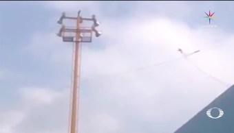 Colisionan aeronaves militares en Santa Lucía