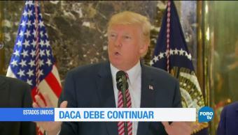 Exigen a Trump conservar derechos de jóvenes con el DACA