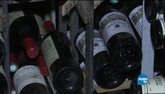 La Tour d 'Argent y sus botellas centenarias