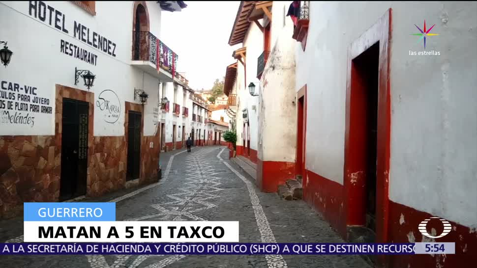 Hallan, cinco, muertos, Taxco