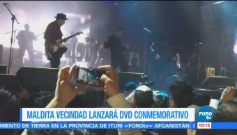 Maldita Vecindad Lanzará DVD Conmemorativo