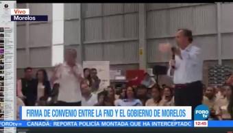 José Antonio Meade Preside Convenio Sector rural