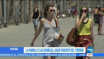 Las Ramblas Barcelona lugar favorito turismo