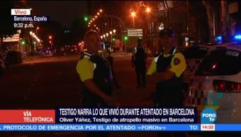 Sobreviviente atentado Las Ramblas comparte testimonio