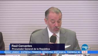 PGR actuará caso Odebrecht Raúl Cervantes