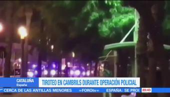 Tiroteo en Cambrils Barcelona abaten a 4 terroristas