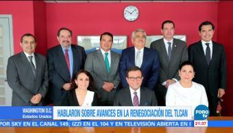 Segundo día de la primera ronda de renegociación del TLCAN