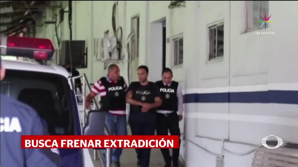 Abogados buscan frenar extradición de Borge