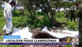 Localizan Cuatro Fosas Clandestinas Zacatecas Valparaiso