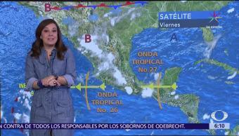 Persistira Cielo Nublado Gran Parte Mexico