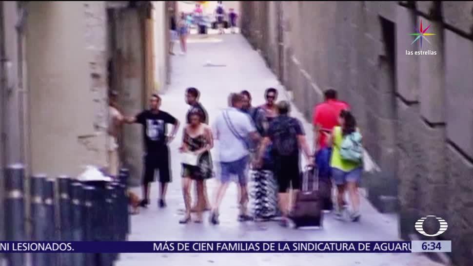Atentado Ramblas Corazon Icono Turistico Barcelona