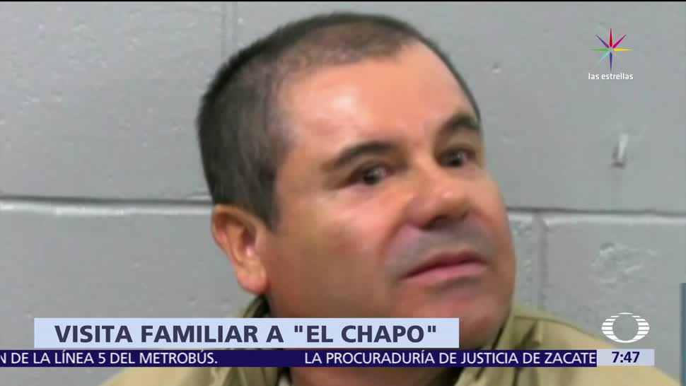 Chapo Guzman Recibe Primera Visita Familiar Eu