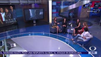 Inicia Serie Hoy Voy Cambiar Lupita D'alessio Estudio Gabriela Roel Mariana Torres Ferdinando Valencia