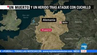Registra Ataque Cuchillo Wuppertal Alemania