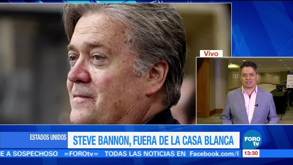 último día Bannon asesor Casa Blanca