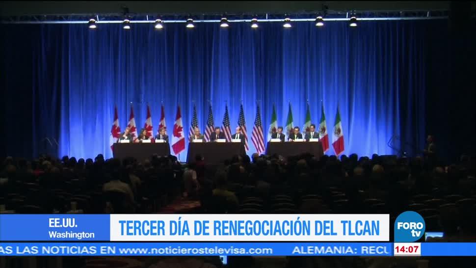 México, EU Canadá tercera ronda TLCAN