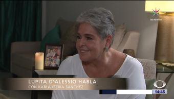 Lupita D'Alessio habla inicios su carrera