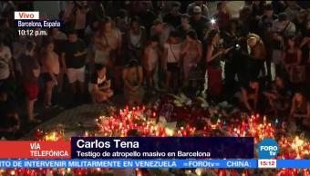 Carlos Tena La Rambla increíble desastre