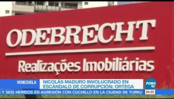 Maduro involucrado en caso Odebrecht: Luisa Ortega