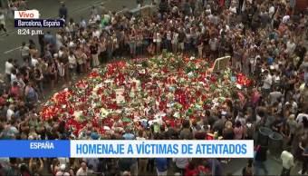 Siguen Homenajes Victimas Atentados Terroristas España