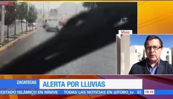 Lluvia, tregua, habitantes, Zacatecas