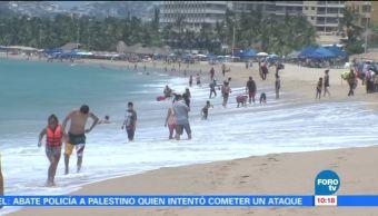 Turistas, exprimen horas, vacaciones
