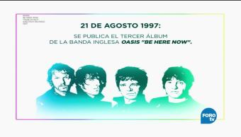Anecdotario Secreto Oasis Be Here Now