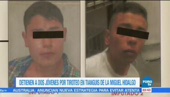 Detienen a dos jóvenes por muerte de una mujer en la CDMX