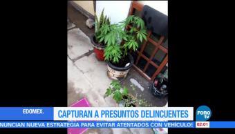 Detienen Personas Técamac Estado de México