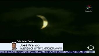 Investigador, UNAM, eclipse, solar