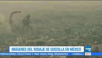 Poder Destructivo Godzilla Ciudad de México