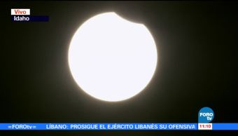 Comienza, Oregon, eclipse total, Sol