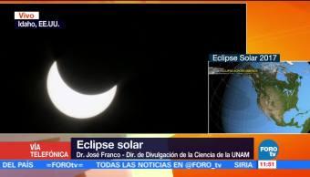 Eclipse Atraviesa Estados Unidos UNAM