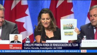 Asuntos Laborales Incluirse Renegociacion Tlcan Carlos Heredia