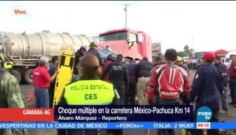 Accidente, México, Pachuca, muerto