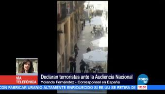 Declaran, terroristas, Audiencia, Nacional