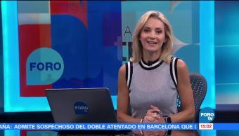 Ana Paula Ordorica Cumple Año Frente Tres Conductora