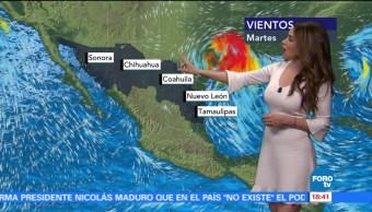 Clima Hora Mayte Carranco Zona Inestabilidad Onda Tropical