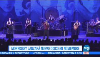Morrissey, lanzará, disco, noviembre