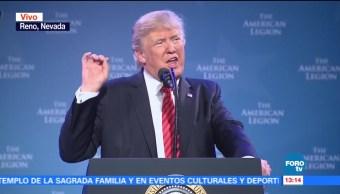Donald Trump ofrece discurso en Nevada