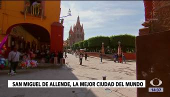 Aumenta turismo San Miguel de Allende