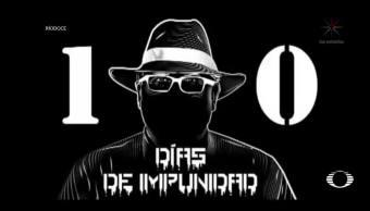 cien días del asesinato del periodista Javier Valdéz