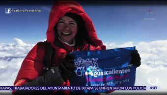 Mexicana Viridiana Álvarez Conquista Everest