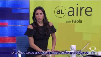 Al aire Paola Rojas Programa Agosto
